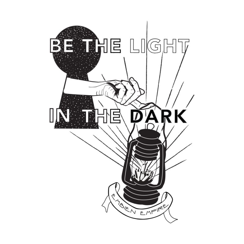 """Be the light in the dark"" Kids Longsleeve T-Shirt by The Embien Empire"