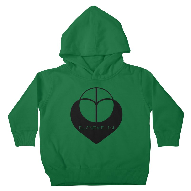 """Embien Insignia""  Kids Toddler Pullover Hoody by The Embien Empire"