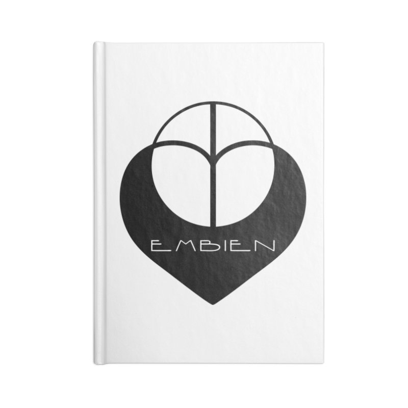 """""""Embien Insignia""""  Accessories Lined Journal Notebook by The Embien Empire"""