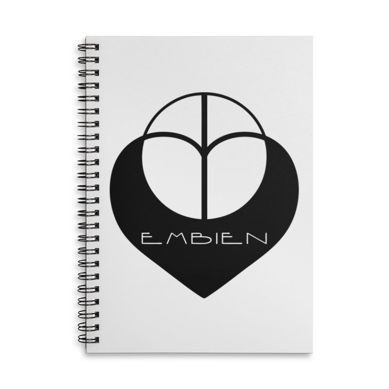 """Embien Insignia""  Accessories Lined Spiral Notebook by The Embien Empire"