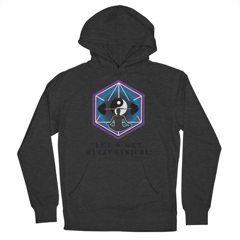 """""""Let's Get Metaphysical"""" Men's French Terry Pullover Hoody by The Embien Empire"""