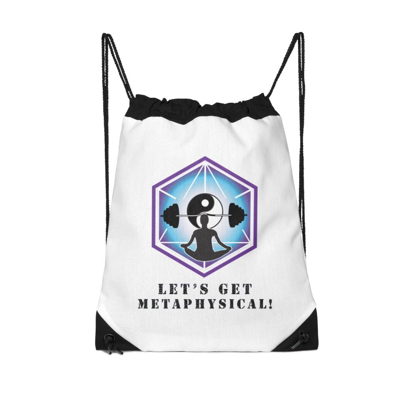 """Let's Get Metaphysical"" Accessories Drawstring Bag Bag by The Embien Empire"