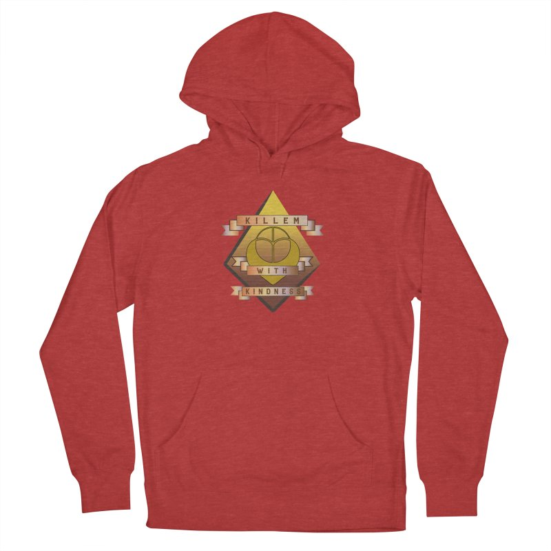 """""""Killem' With Kindness""""  Men's French Terry Pullover Hoody by The Embien Empire"""