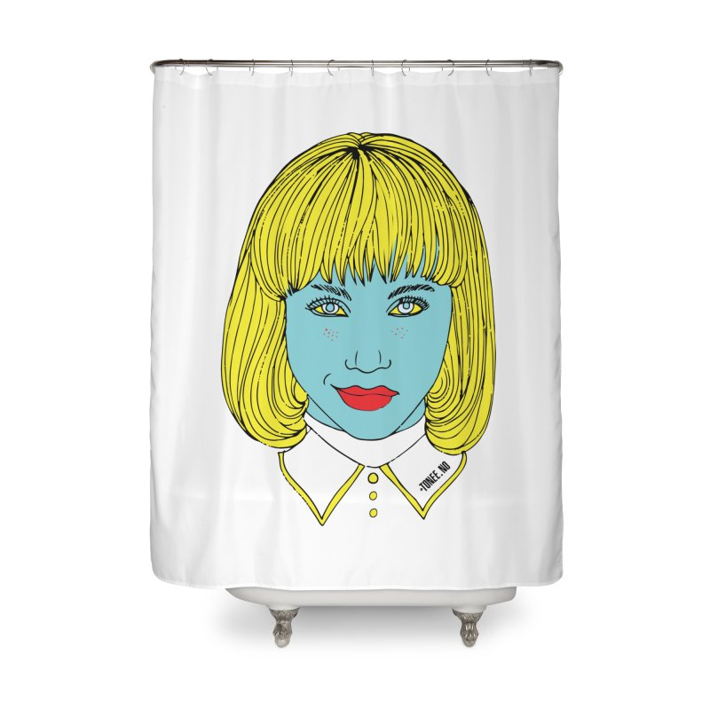 Darling Home Shower Curtain by Tonee.no Artist Shop