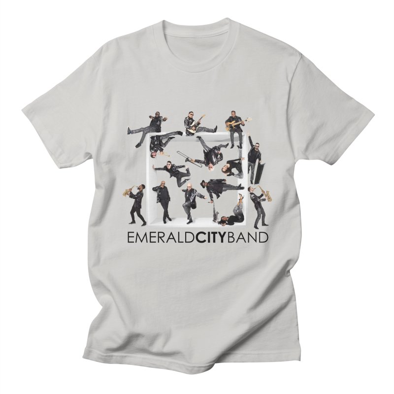 Emerald City Squared Men's T-Shirt by Emerald City Band's Artist Shop