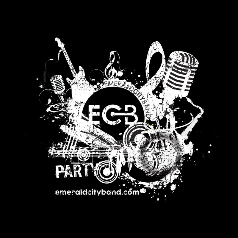 ECB Distressed - Party Men's T-Shirt by Emerald City Band's Artist Shop