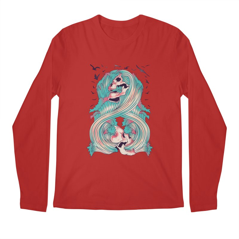 Spirit of the Waves Men's Longsleeve T-Shirt by Emerson Rauth