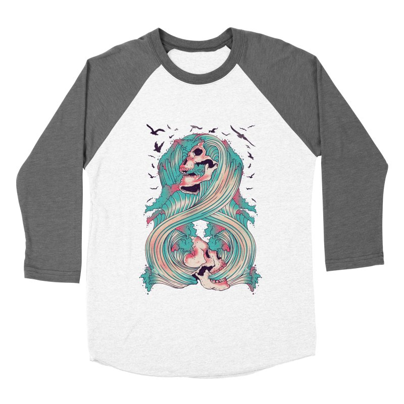 Spirit of the Waves Women's Baseball Triblend T-Shirt by Emerson Rauth