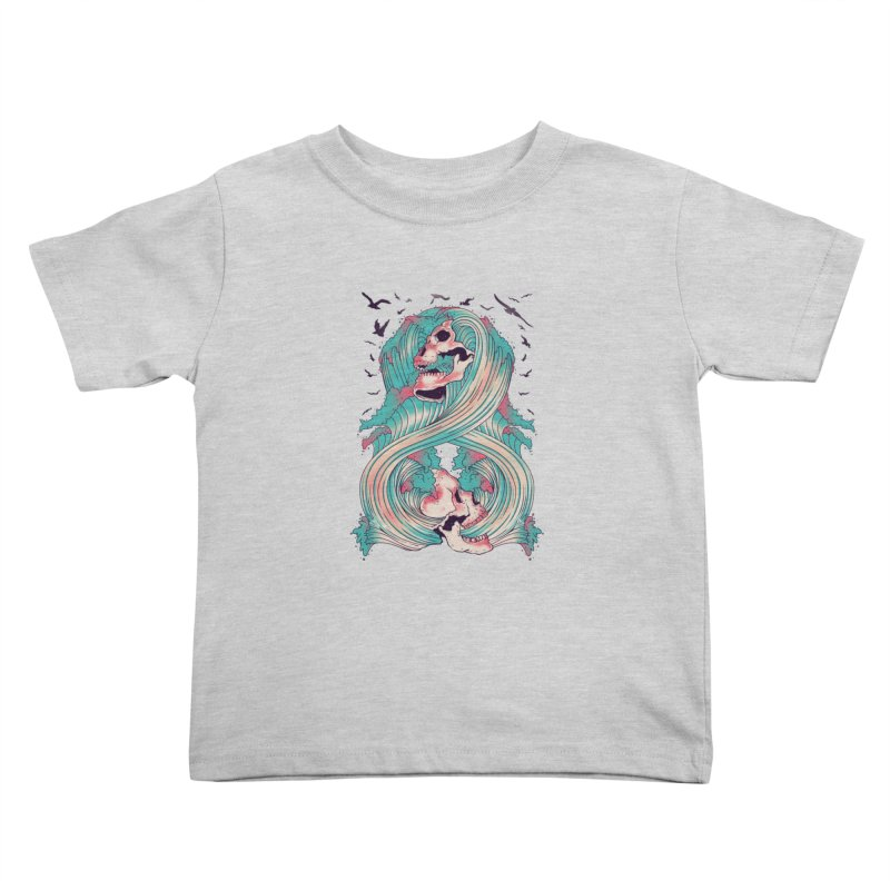 Spirit of the Waves Kids Toddler T-Shirt by Emerson Rauth