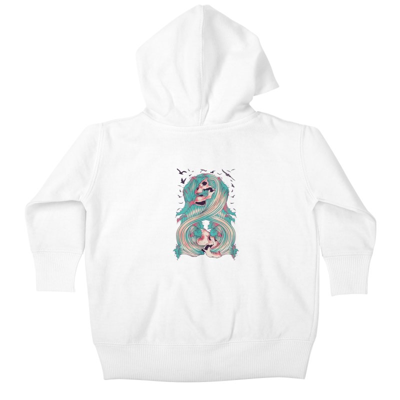 Spirit of the Waves Kids Baby Zip-Up Hoody by Emerson Rauth