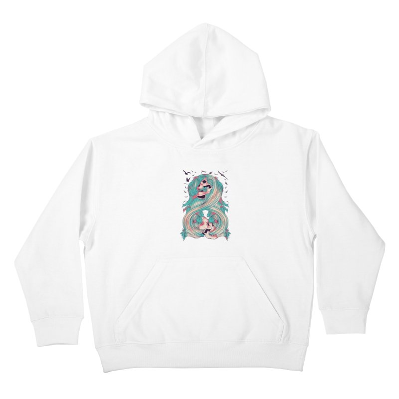 Spirit of the Waves Kids Pullover Hoody by Emerson Rauth
