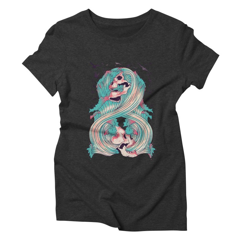 Spirit of the Waves Women's Triblend T-shirt by Emerson Rauth