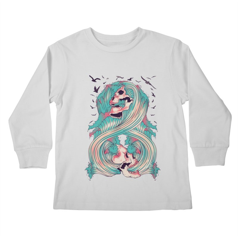 Spirit of the Waves Kids Longsleeve T-Shirt by Emerson Rauth