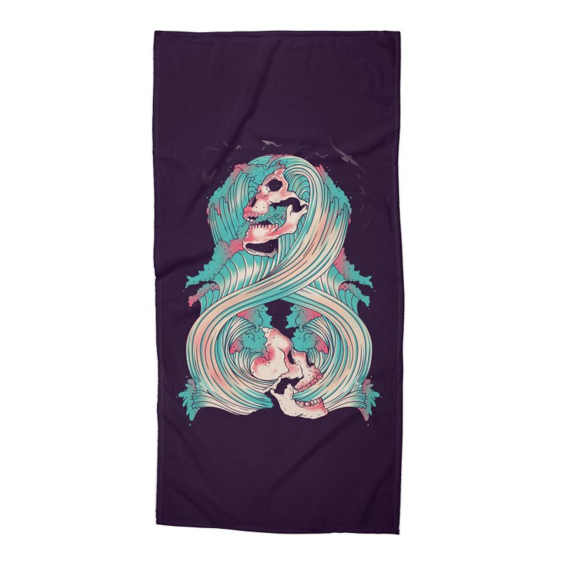 Spirit of the Waves Accessories Beach Towel by Emerson Rauth