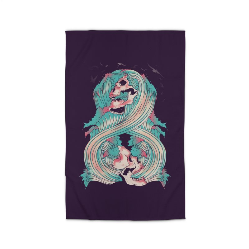 Spirit of the Waves Home Rug by Emerson Rauth