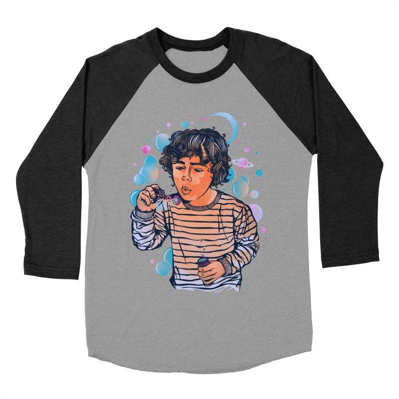 """soap bubble"" Men's Baseball Triblend T-Shirt by Emerson Rauth"