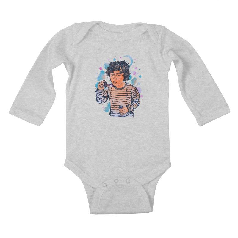 """""""soap bubble"""" Kids Baby Longsleeve Bodysuit by Emerson Rauth"""