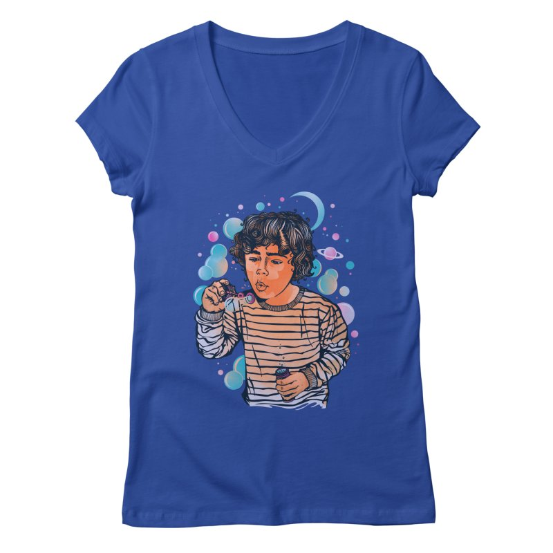 """""""soap bubble"""" Women's V-Neck by Emerson Rauth"""