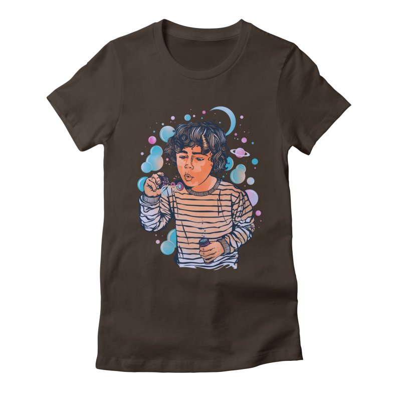 """""""soap bubble"""" Women's Fitted T-Shirt by Emerson Rauth"""