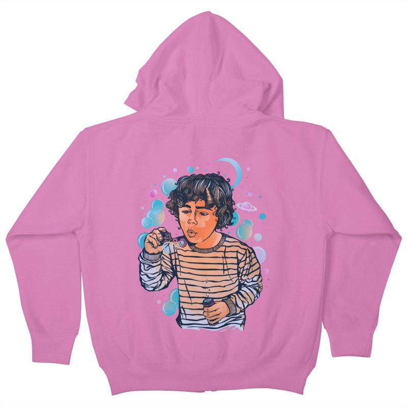 """""""soap bubble"""" Kids Zip-Up Hoody by Emerson Rauth"""