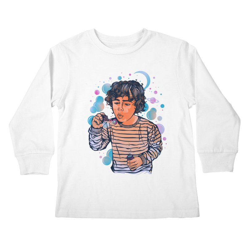 """soap bubble"" Kids Longsleeve T-Shirt by Emerson Rauth"