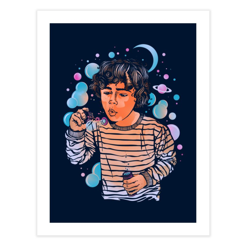 """soap bubble"" Home Fine Art Print by Emerson Rauth"