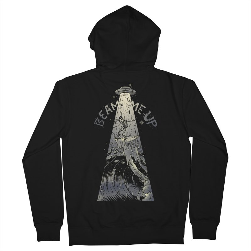 """""""Beam me up"""" Men's Zip-Up Hoody by Emerson Rauth"""