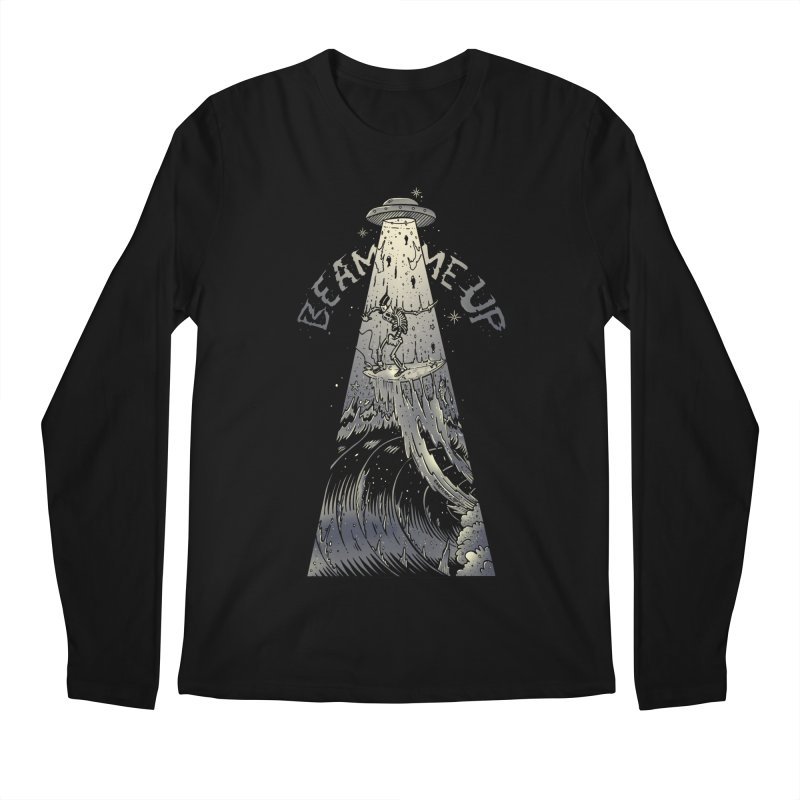 """""""Beam me up"""" Men's Longsleeve T-Shirt by Emerson Rauth"""