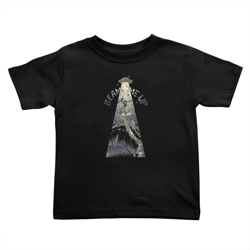 """Beam me up"" Kids Toddler T-Shirt by Emerson Rauth"