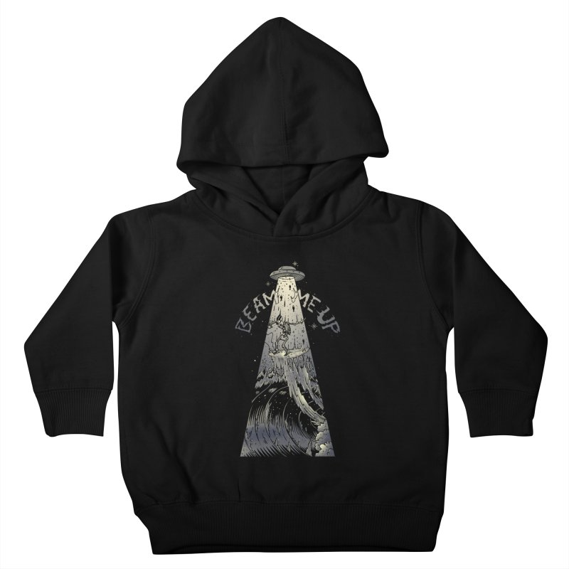 """""""Beam me up"""" Kids Toddler Pullover Hoody by Emerson Rauth"""