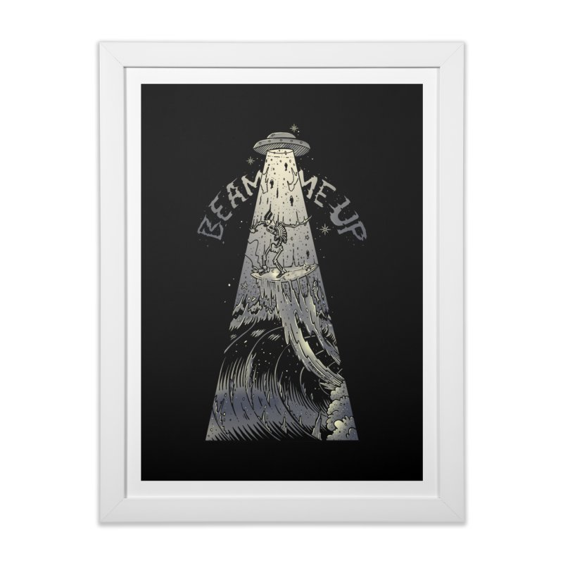 """Beam me up"" Home Framed Fine Art Print by Emerson Rauth"