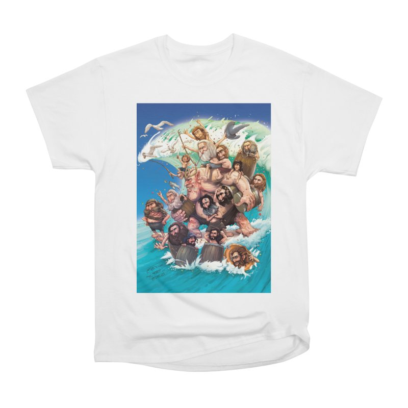 Hobbit Wave Women's Classic Unisex T-Shirt by Emerson Rauth