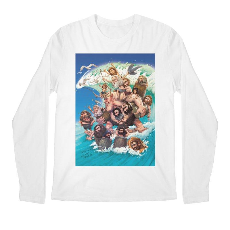Hobbit Wave Men's Longsleeve T-Shirt by Emerson Rauth