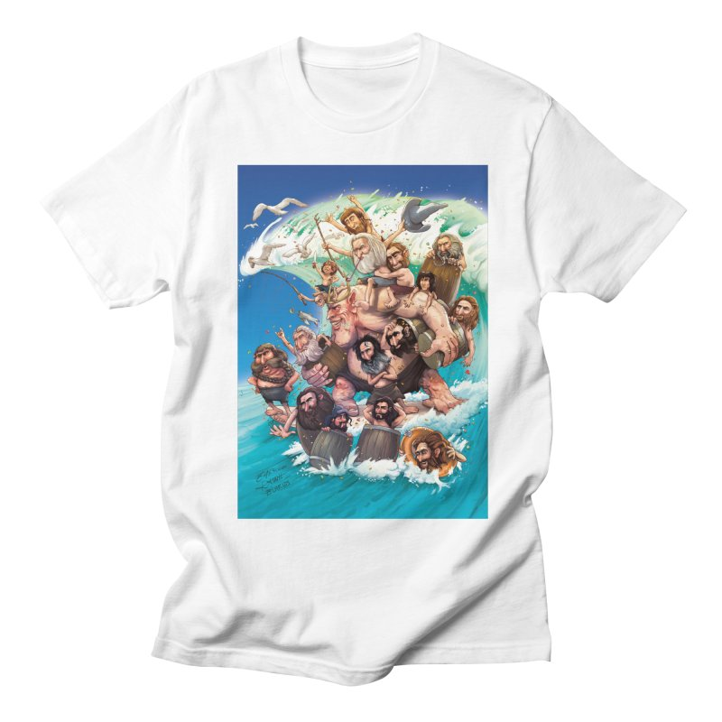 Hobbit Wave Men's T-Shirt by Emerson Rauth