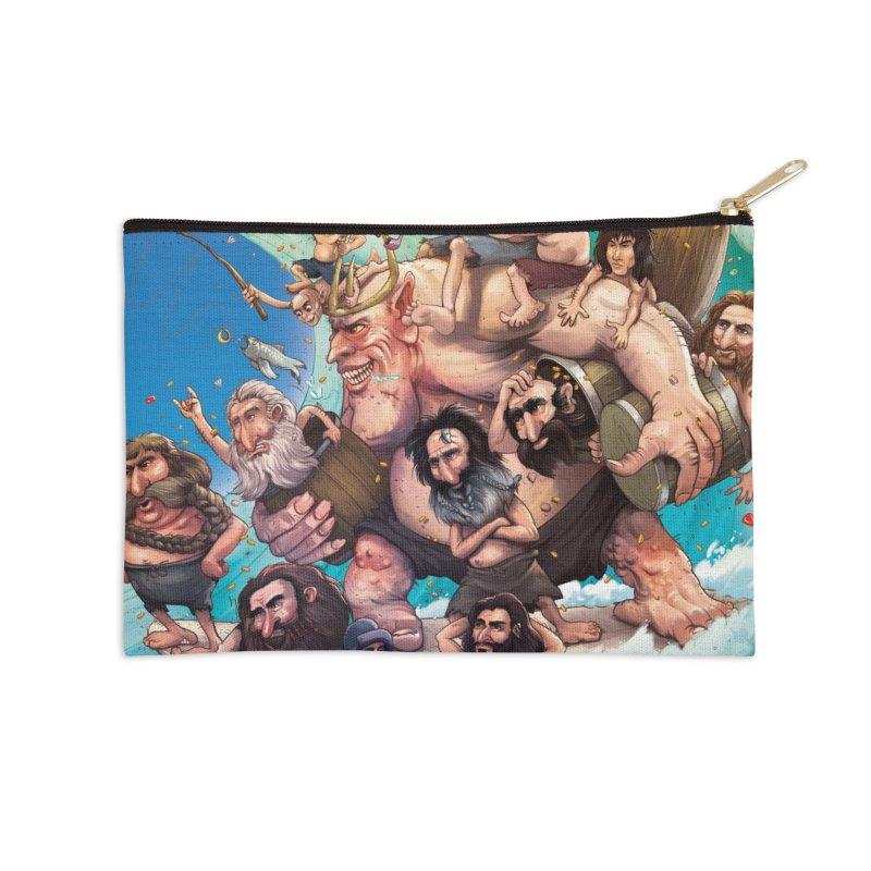 Hobbit Wave Accessories Zip Pouch by Emerson Rauth