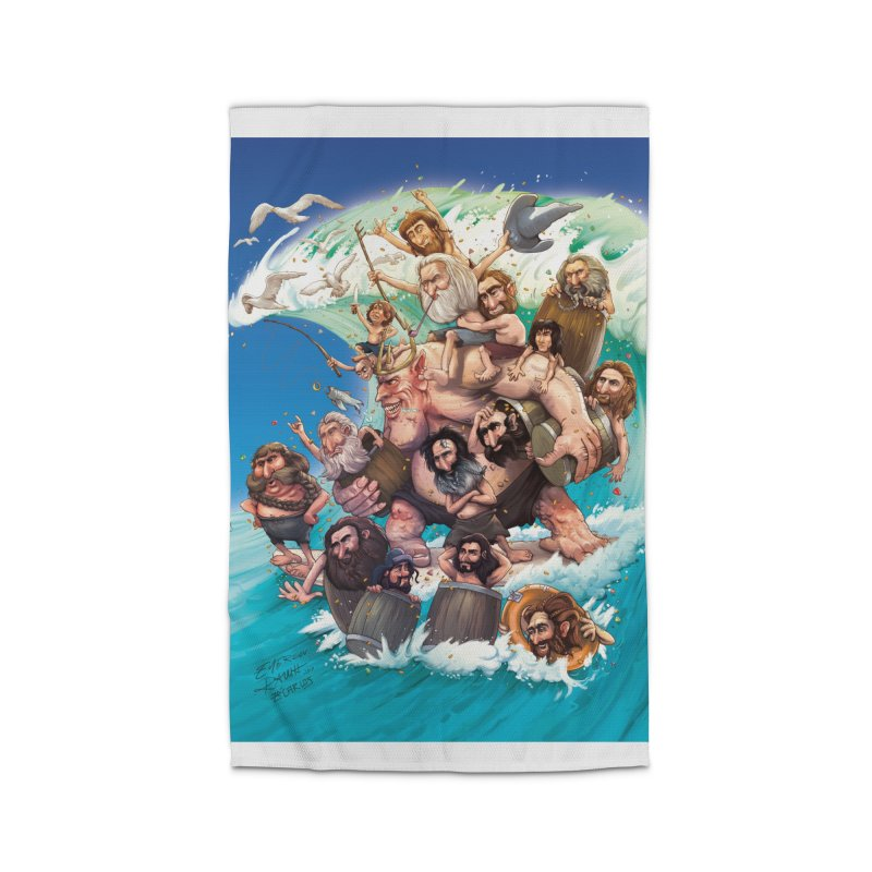 Hobbit Wave Home Rug by Emerson Rauth