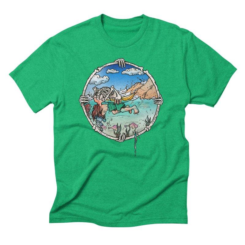 Vida no Mar Men's Triblend T-Shirt by Emerson Rauth