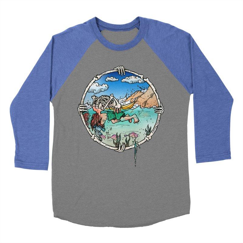 Vida no Mar Women's Baseball Triblend T-Shirt by Emerson Rauth
