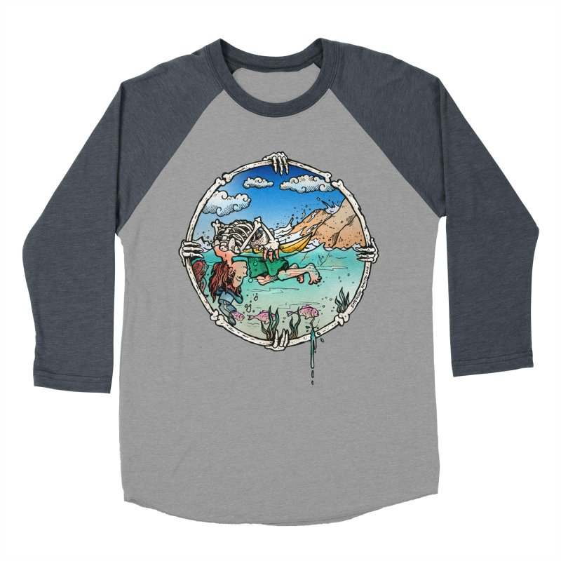 Vida no Mar Men's Baseball Triblend T-Shirt by Emerson Rauth