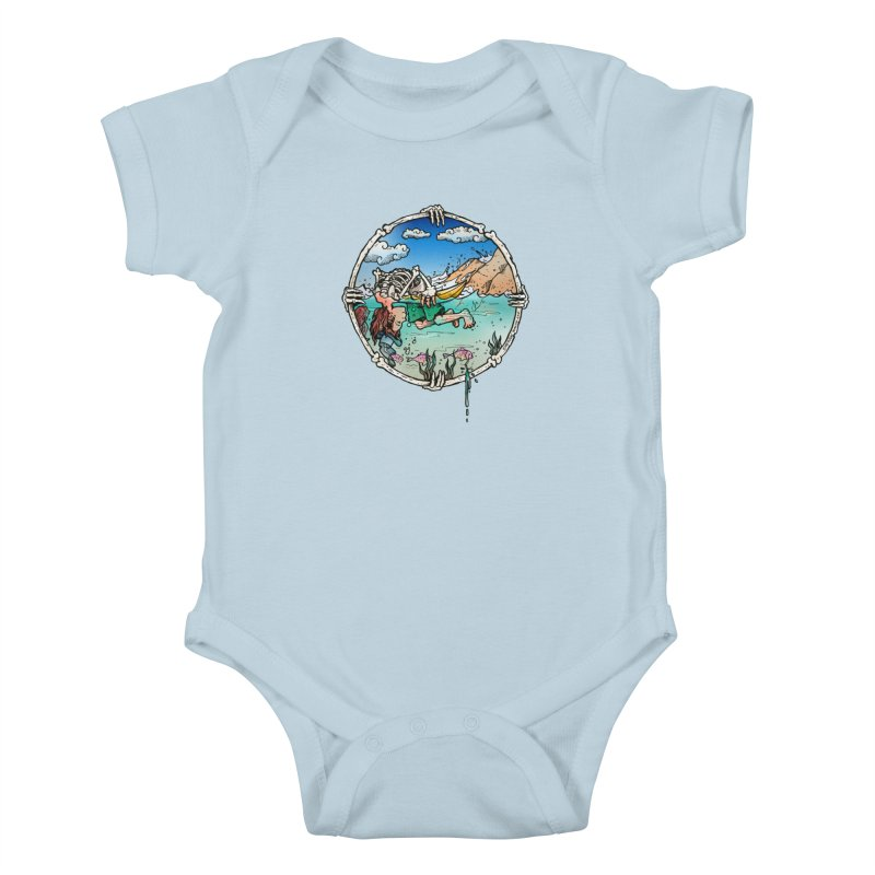 Vida no Mar Kids Baby Bodysuit by Emerson Rauth