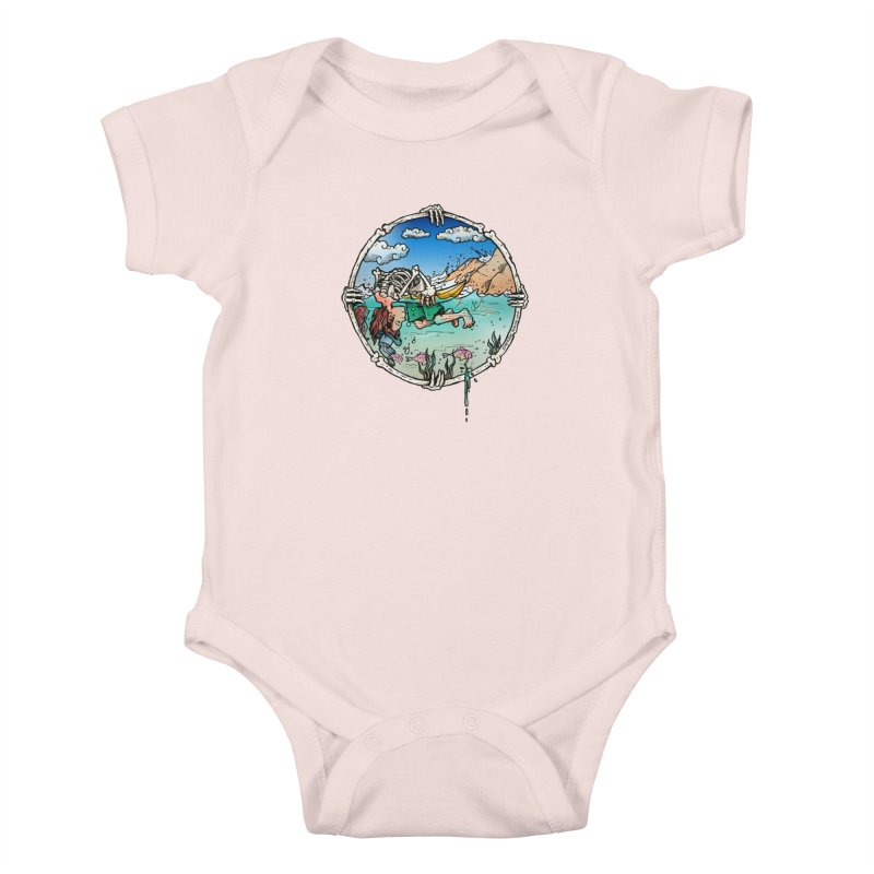 Vida no Mar Kids Baby Bodysuit by Emerson Rauth