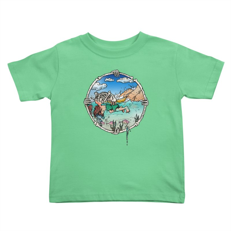 Vida no Mar Kids Toddler T-Shirt by Emerson Rauth