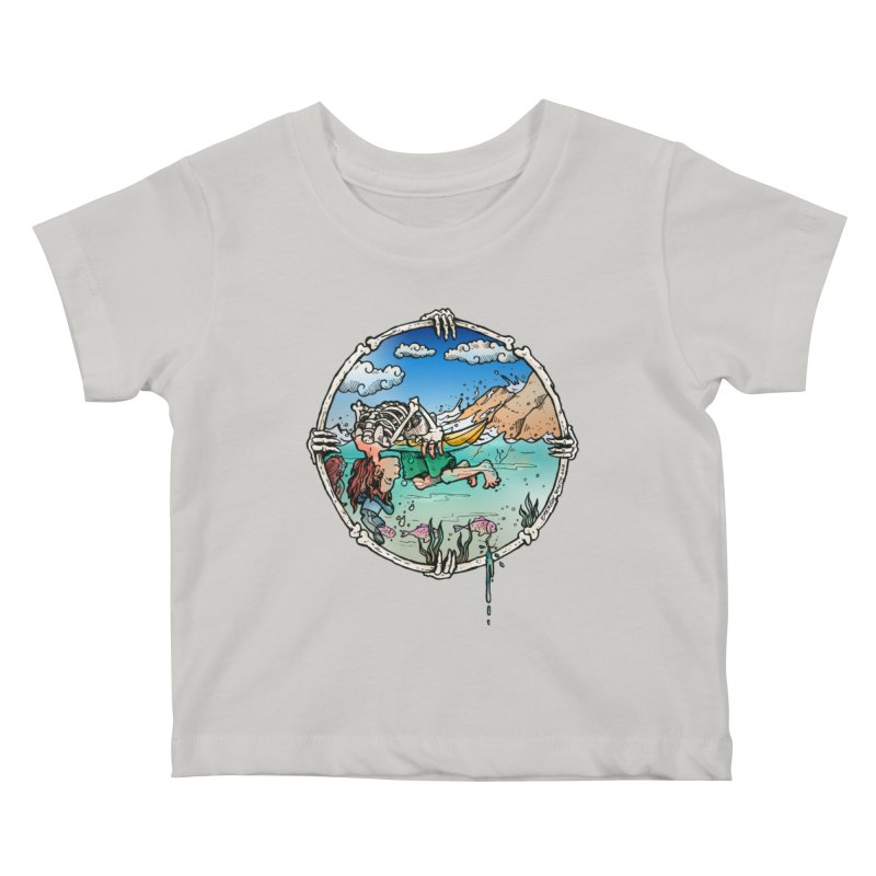 Vida no Mar Kids Baby T-Shirt by Emerson Rauth