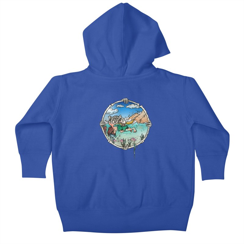 Vida no Mar Kids Baby Zip-Up Hoody by Emerson Rauth
