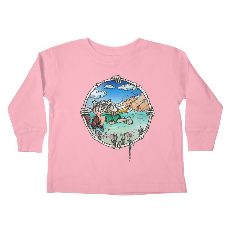 Vida no Mar Kids Toddler Longsleeve T-Shirt by Emerson Rauth