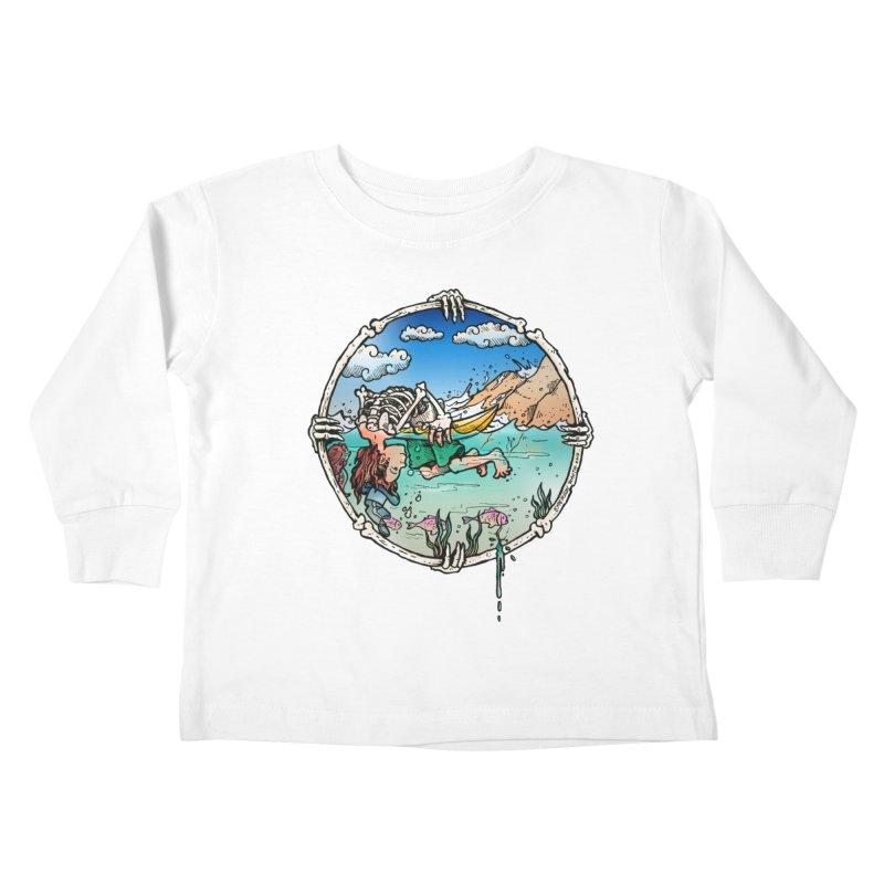 Vida no Mar Kids Toddler Longsleeve T-Shirt by Emerson Rauth