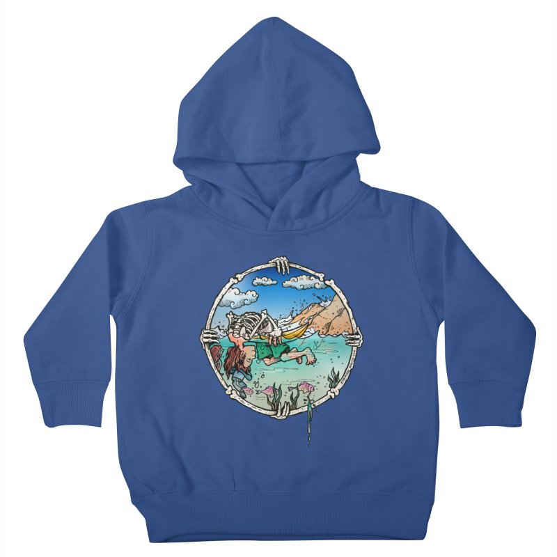 Vida no Mar Kids Toddler Pullover Hoody by Emerson Rauth