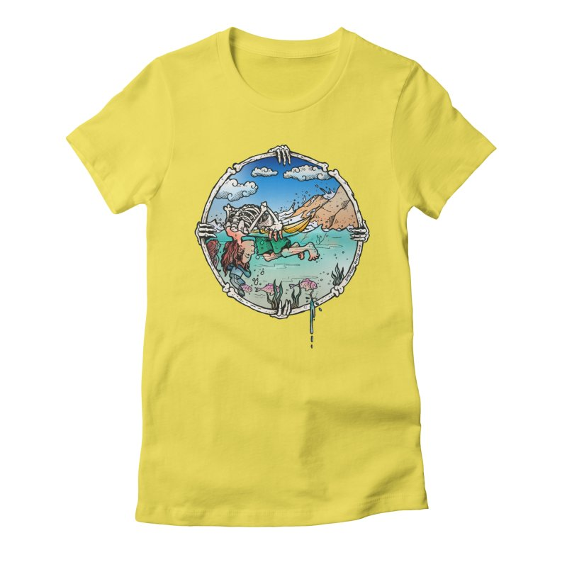 Vida no Mar Women's Fitted T-Shirt by Emerson Rauth