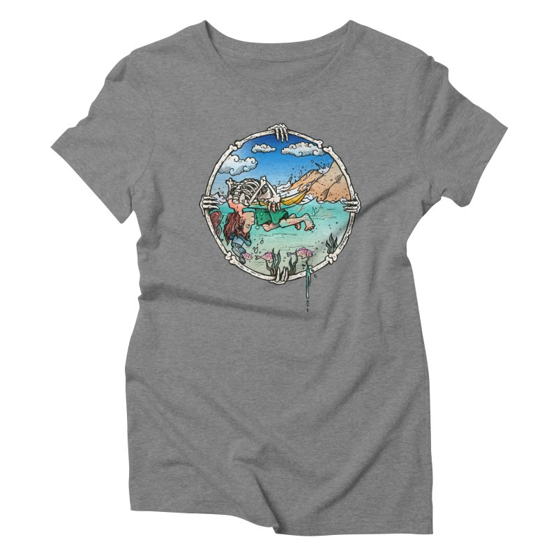 Vida no Mar Women's Triblend T-Shirt by Emerson Rauth