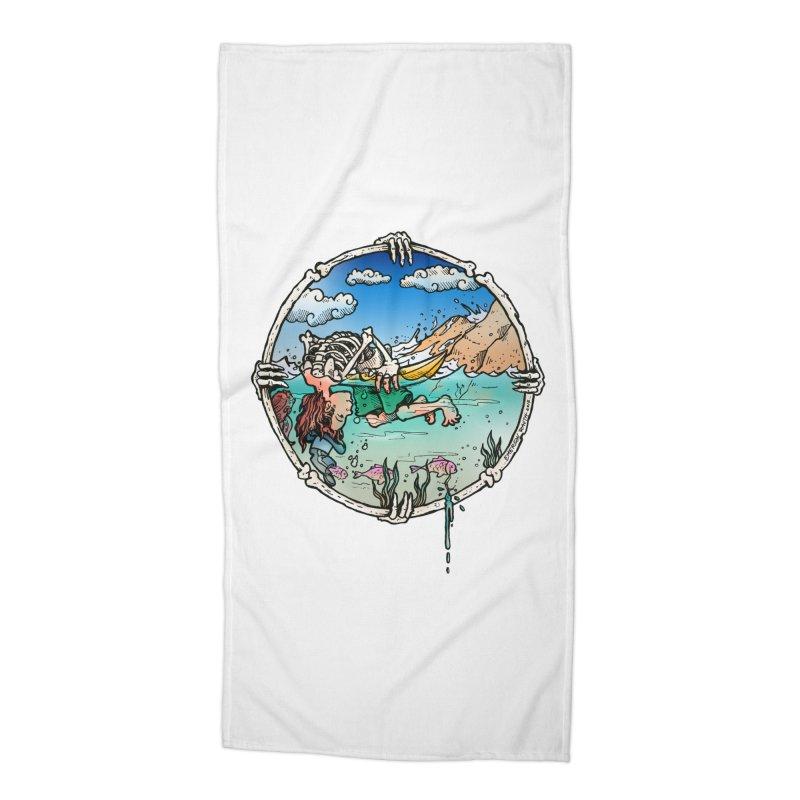 Vida no Mar Accessories Beach Towel by Emerson Rauth